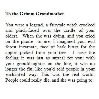 thegrimmgrandmother